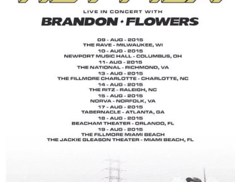 Rey Pila + Brandon Flowers